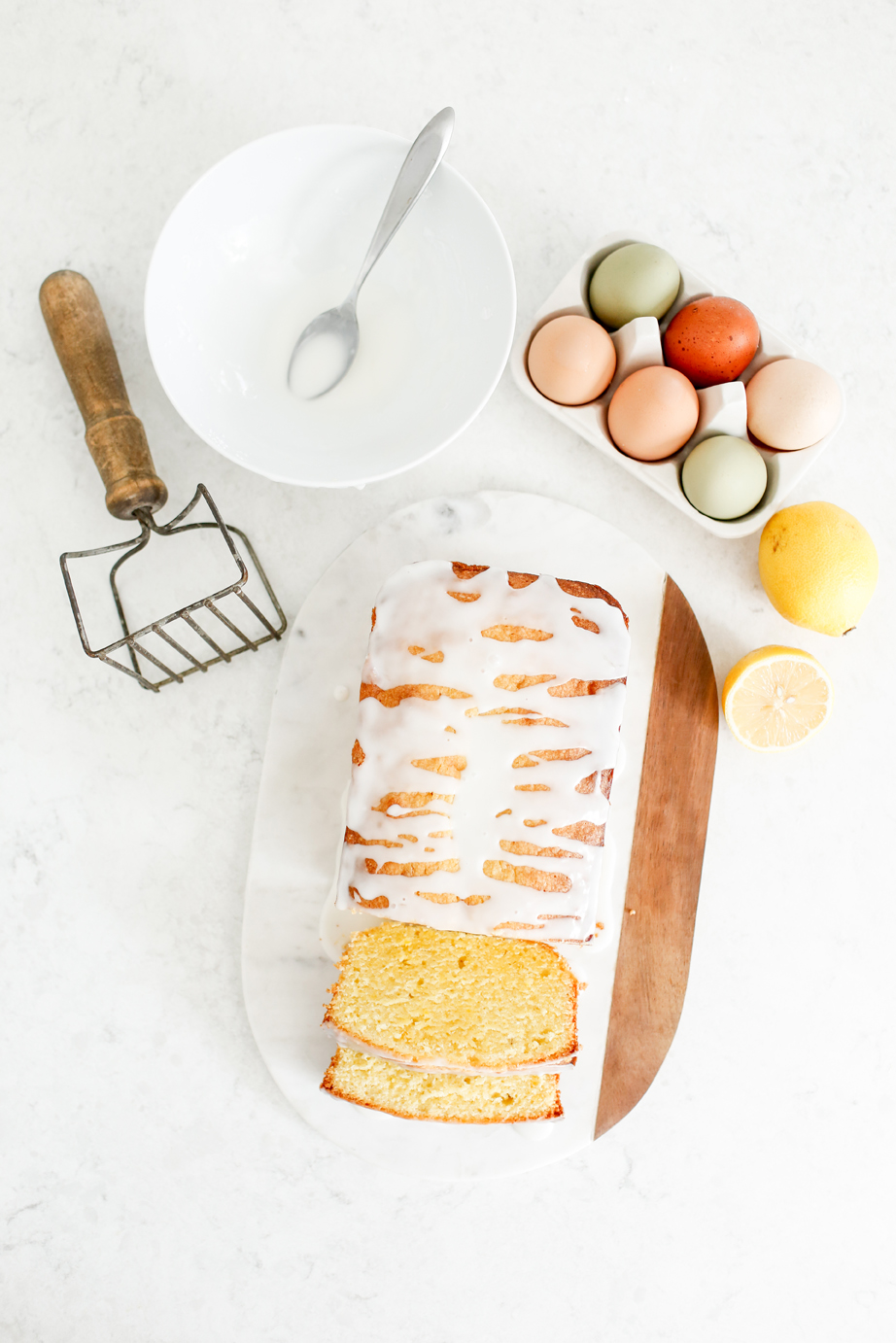 egg yolk pound cake