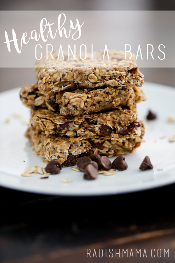 The best granola bars you'll ever have, they are easy and healthy!