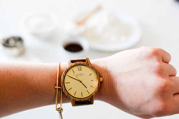 Stunning wooden womens watch by JORD